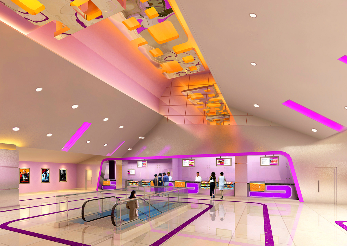 firm specialized in multiplex cinema interior design, Interior designer for game zone, food court  ,Best Cinema interior designer and architect in india, Standalone cinema theatre architects in india, Interior designer for residence.