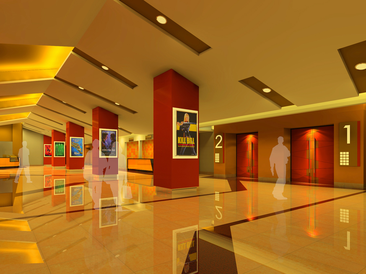 Architect for mall, theatre, feasibility planning, preliminary layout drawings, Interior designer for clubs, Interior designer for game zone, food court  ,Best Cinema interior designer and architect in india, Standalone cinema theatre architects in maharashtra.
